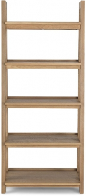 Bourg Oak Ladder Display Unit