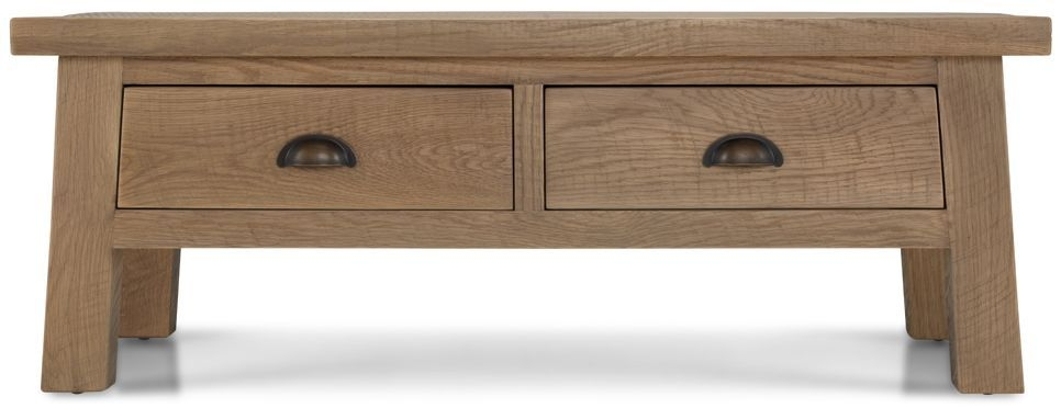 Bourg Oak Storage Coffee Table