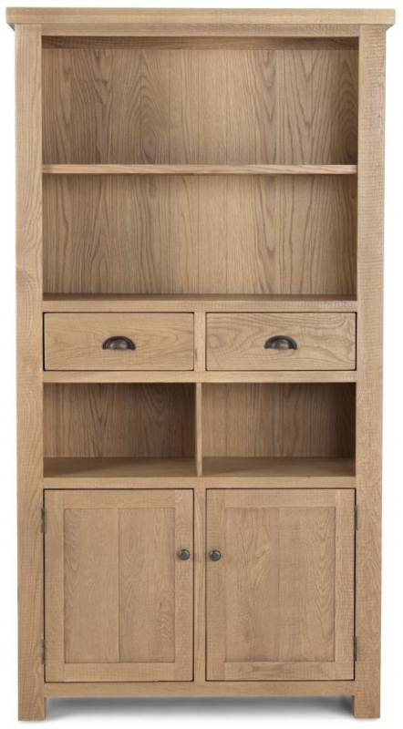 Bourg Oak Tall Bookcase