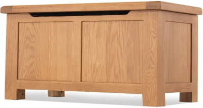 Bradburn Oak Blanket Box