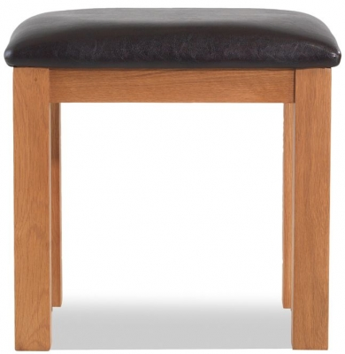 Bradburn Oak Dressing Stool