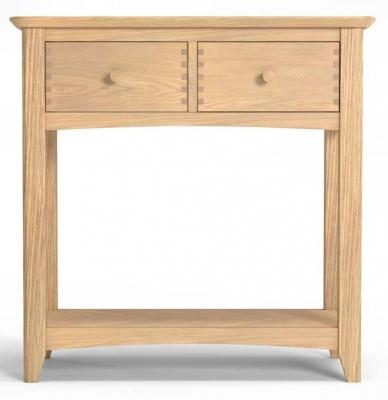 Celina Oak Console Table