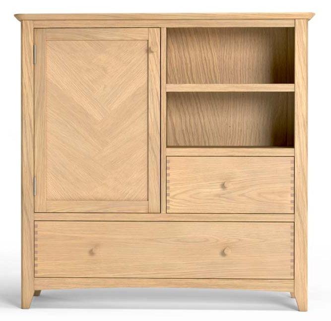 Celina Oak 1 Door Drinks Cabinet