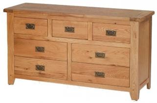 Cherington Oak 7 Chest Drawer
