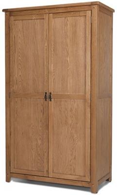 Cherington Oak 2 Door Wardrobe