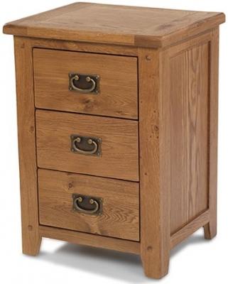 Cherington Oak Bedside Cabinet