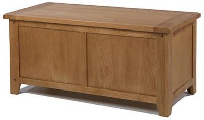 Cherington Oak Blanket Box