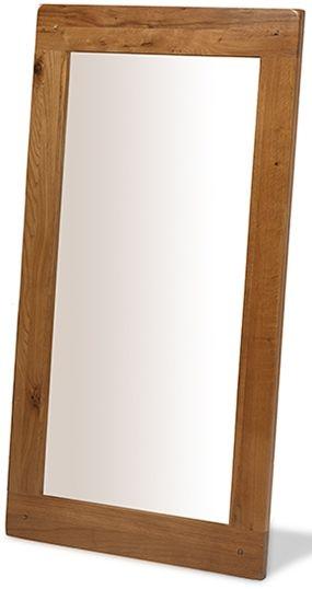 Cherington Oak Rectangular Wall Mirror - 117cm x 61cm