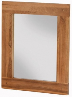 Cherington Oak Rectangular Mirror - 75cm x 60cm