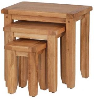 Cherington Oak Nest of Tables