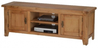 Cherington Oak Plasma TV Dvd and Video Unit