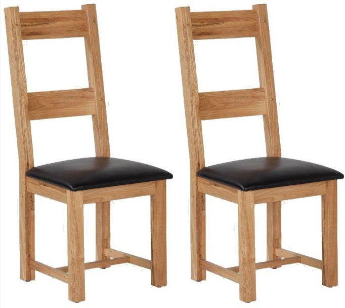 Cherington Oak Dining Chair (Pair)