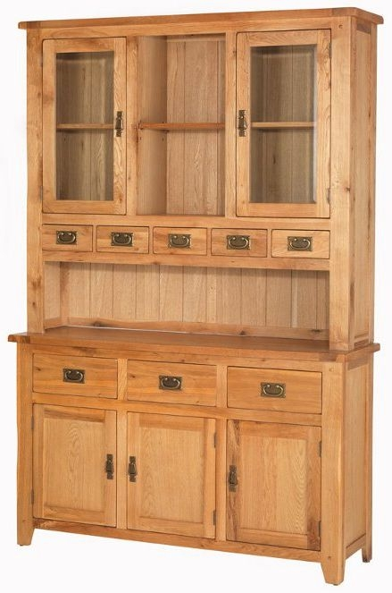 Cherington Oak Large Dresser