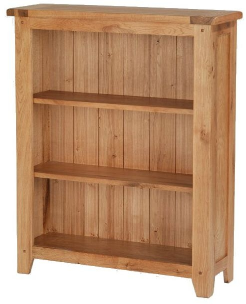 Cherington Oak Low Bookcase