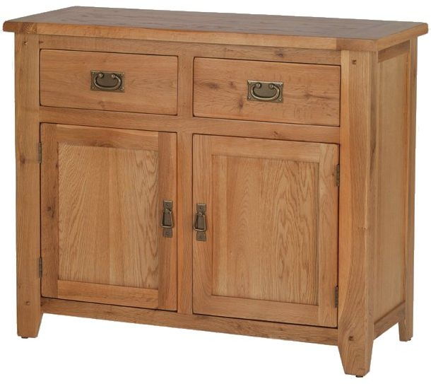 Cherington Oak 2 Drawer Standard Sideboard