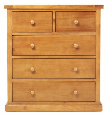 Churchill Pine 3+2 Drawer Chest