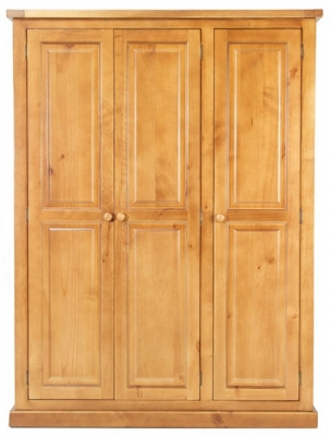Churchill Pine 3 Door Wardrobe