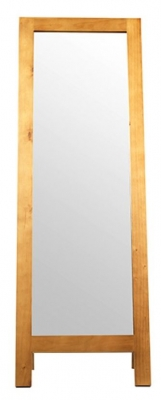 Churchill Pine Rectangular Cheval Mirror - 53cm x 147cm