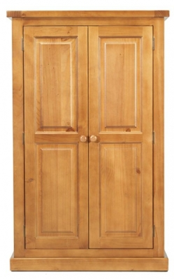 Churchill Pine Kids Double Wardrobe