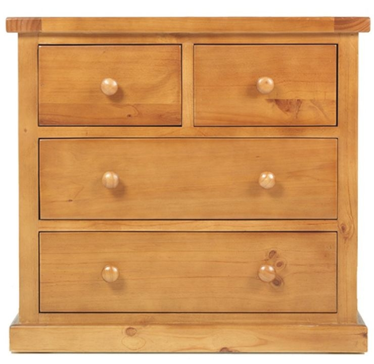 Churchill Pine 2+2 Chest of Drawer