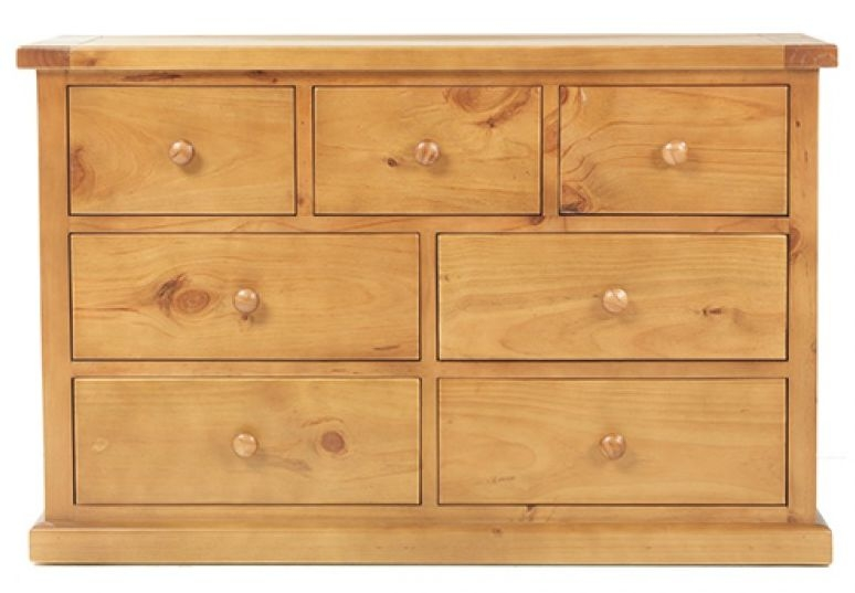 Churchill Pine 3+4 Drawer Chest