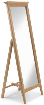 Cornett Oak Rectangular Cheval Mirror - 53cm x 147cm
