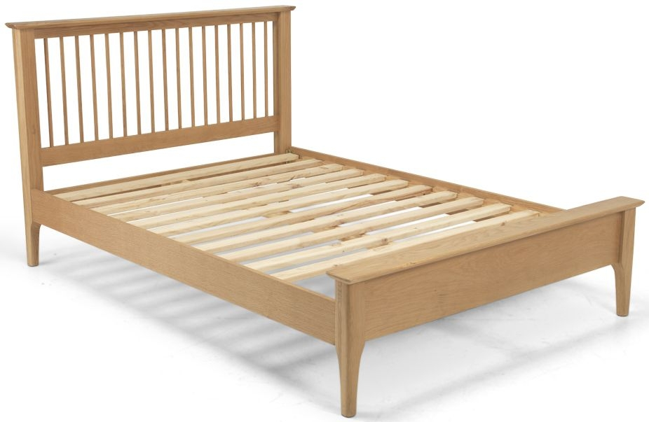 Cornett Solid Oak Low Foot End Bed