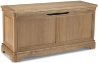 Georgina Natural Oak Blanket Box