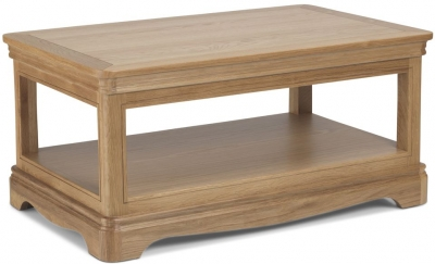 Georgina Natural Oak Coffee Table
