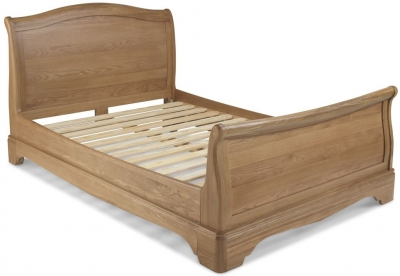Georgina Natural Oak Bed