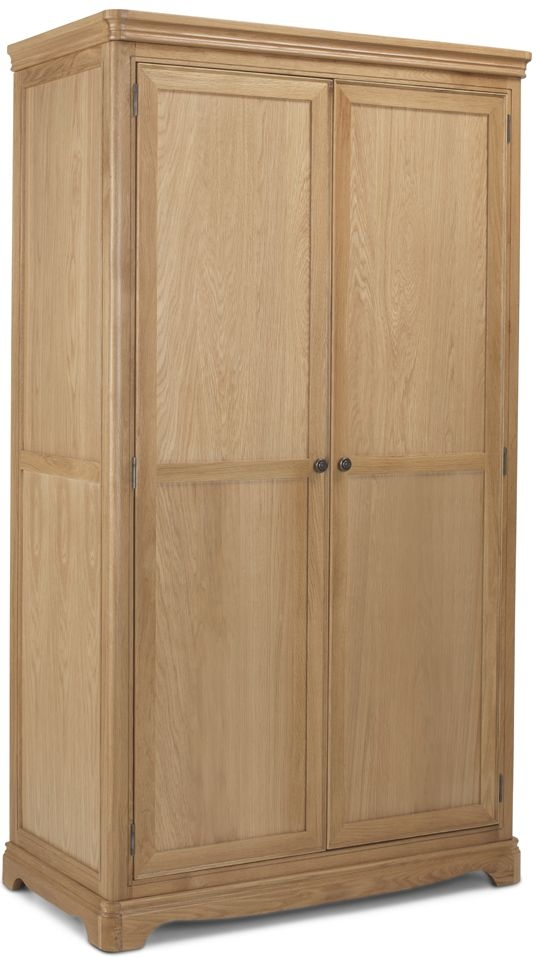 Georgina Natural Oak 2 Door Wardrobe