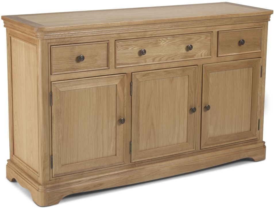Georgina Natural Oak Large Sideboard