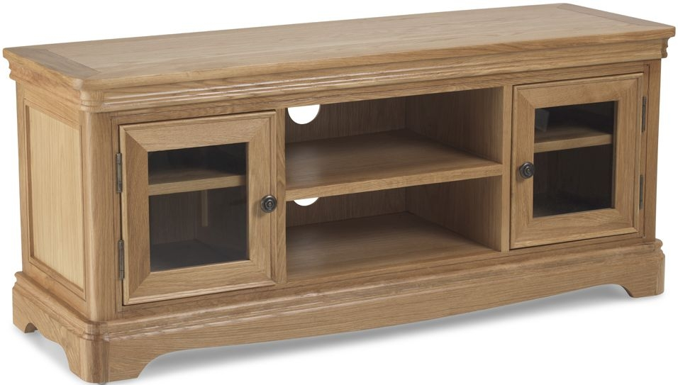 Georgina Natural Oak Plasma TV Cabinet
