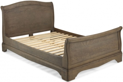 Georgina Grey Washed Oak Bed