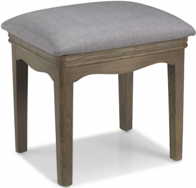 Georgina Grey Washed Oak Stool