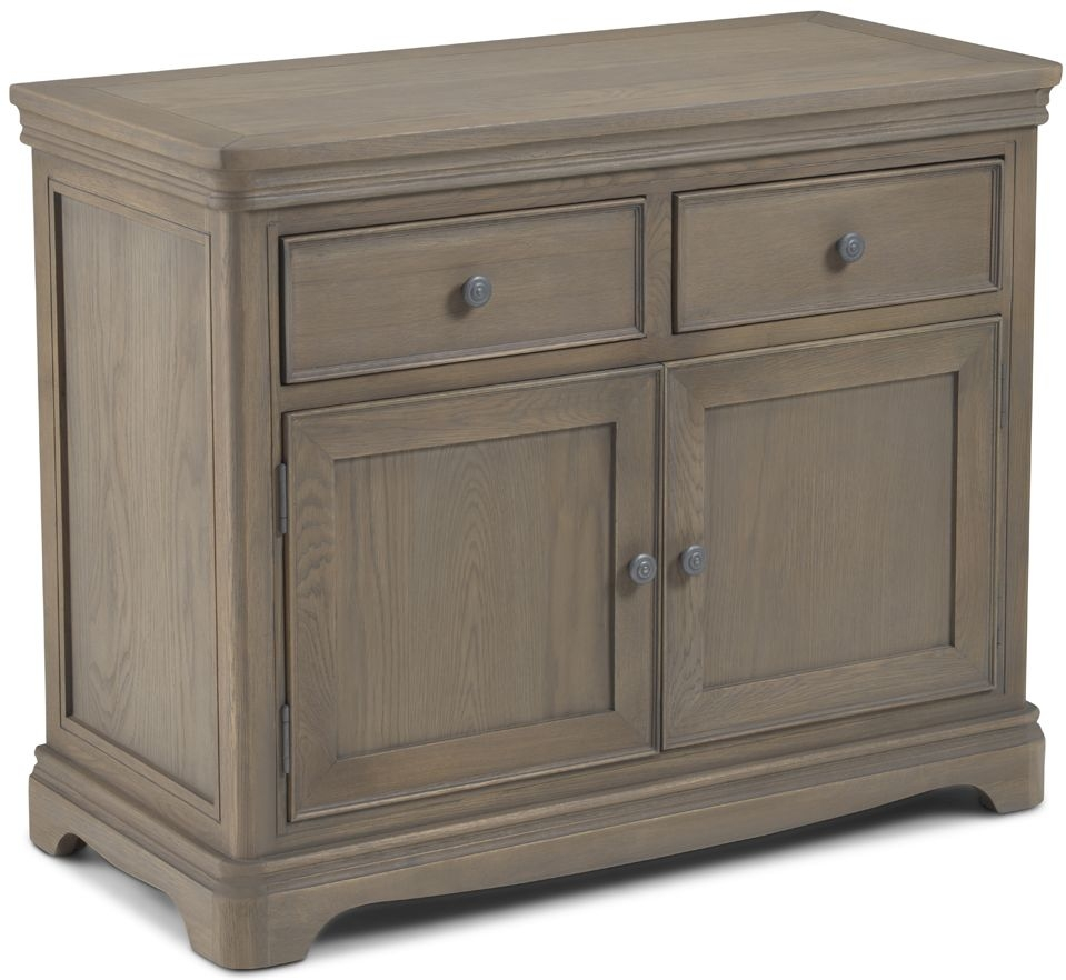 Georgina Grey Washed Oak Sideboard