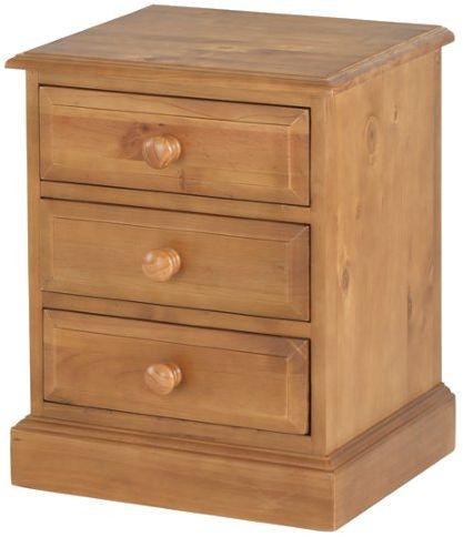 Henbury Pine Bedside Cabinet