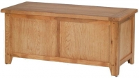 Clearance Cherbourg Oak Blanket Box - S68