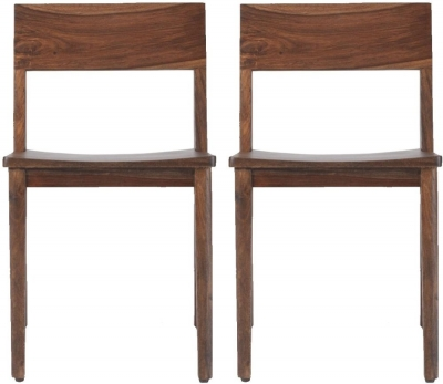 Marvin Sheesham Dining Chair (Pair)