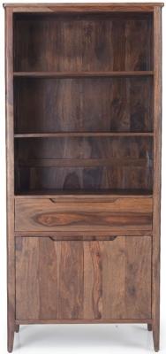 Marvin Sheesham Large Bookcase