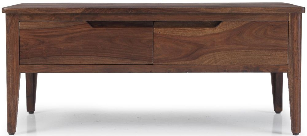 Marvin Sheesham Coffee Table with Drawer