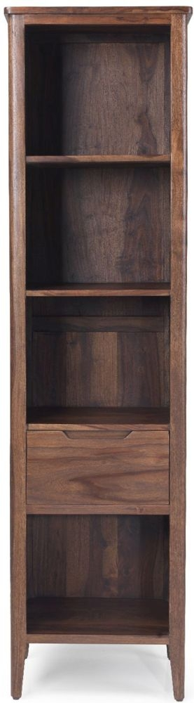 Marvin Sheesham Slim Bookcase