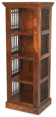 Mica Sheesham Alcove Bookcase