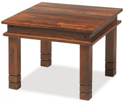 Mica Sheesham Chunky Small Coffee Table