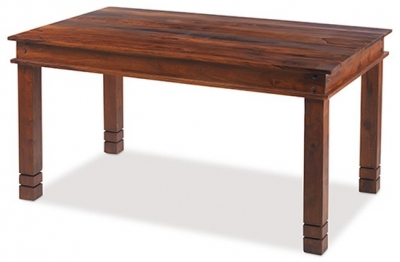 Mica Sheesham Chunky Dining Table