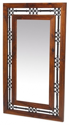 Mica Sheesham Rectangular Mirror - 70cm x 115cm