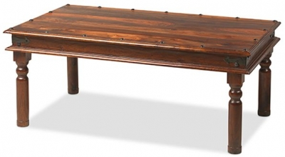 Mica Sheesham Thacket Large Coffee Table