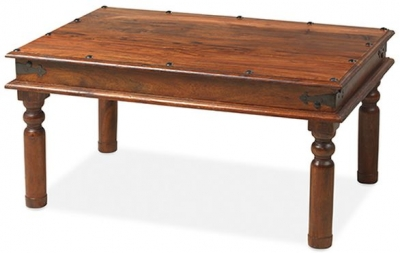 Mica Sheesham Thacket Medium Coffee Table