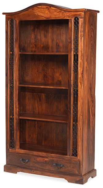Mica Sheesham Tall Bookcase