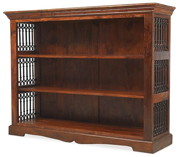 Mica Sheesham Low Bookcase